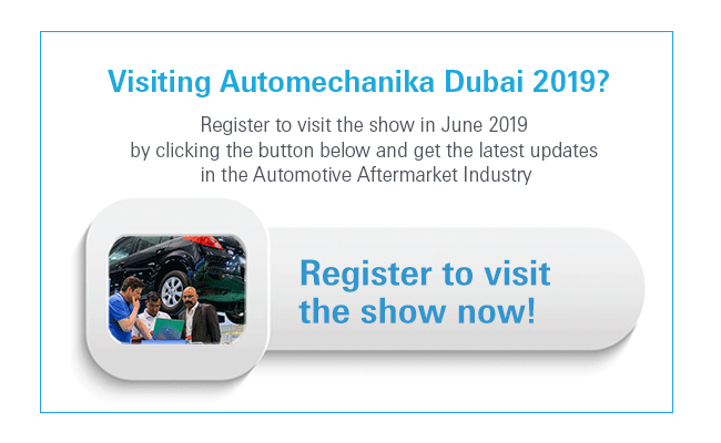 Register your visit to Automechanika Dubai 2019